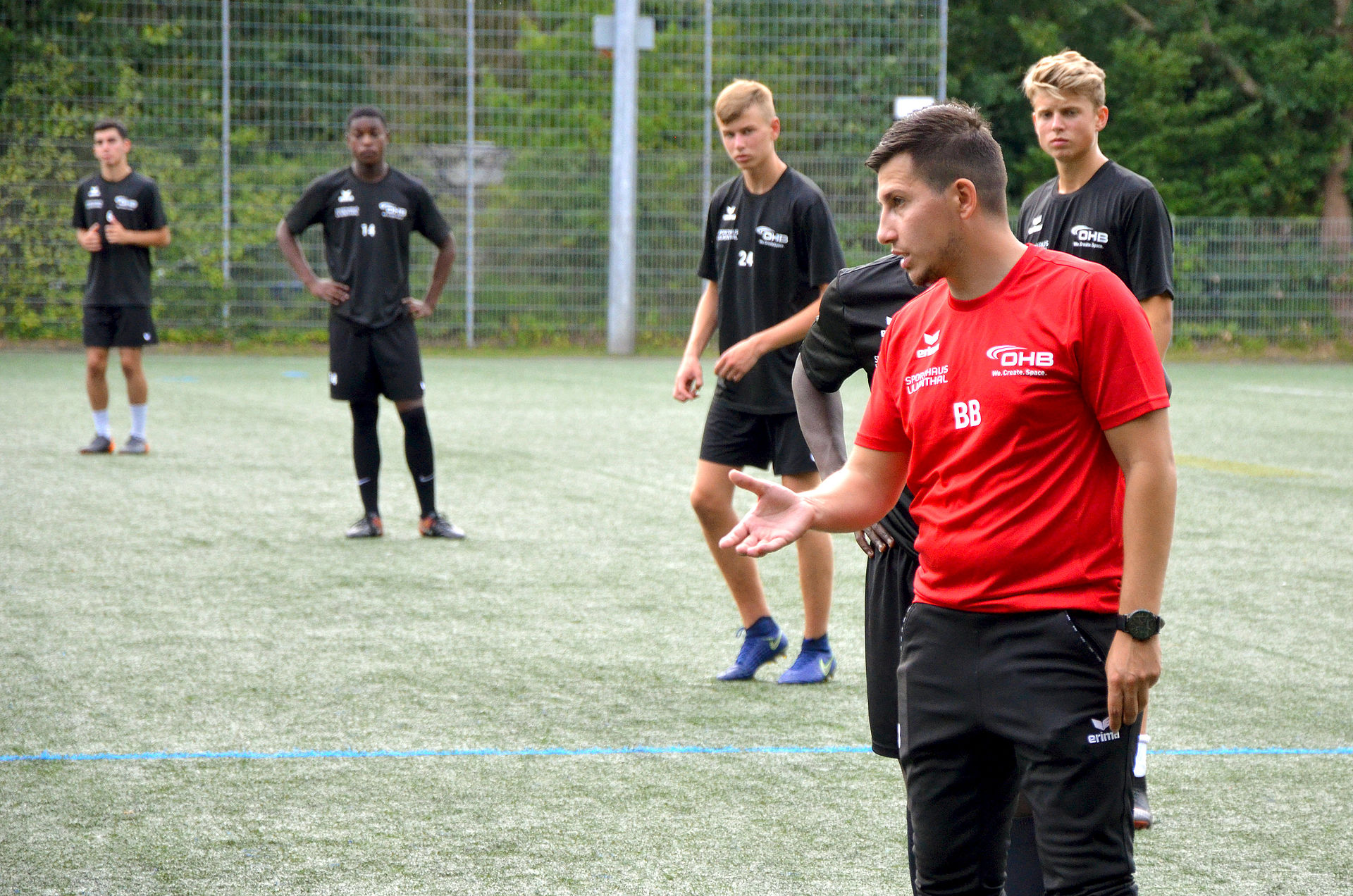 Winning in your head! OHB and SC Borgfeld: Promoting young talent in football
