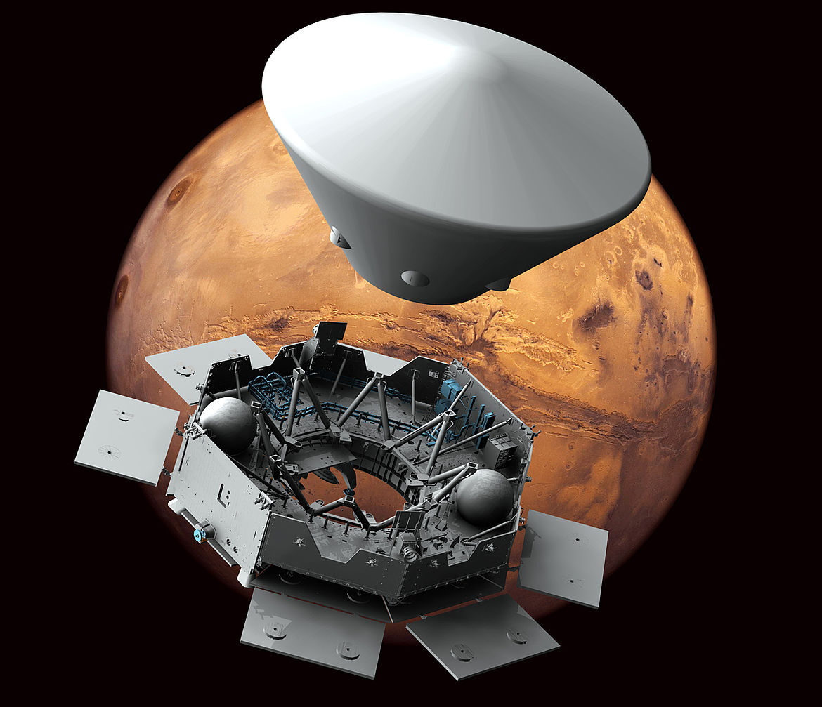 OHB on its way to Mars