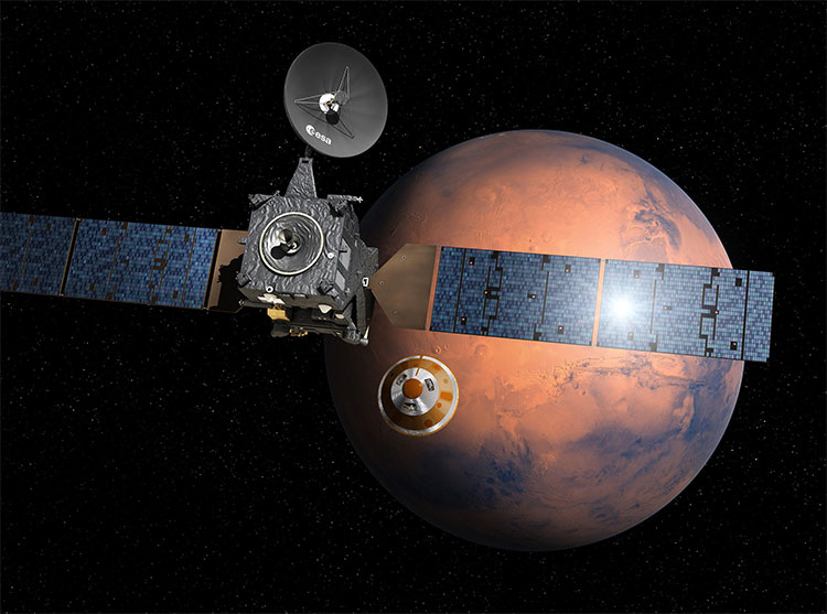 ExoMars Satellite