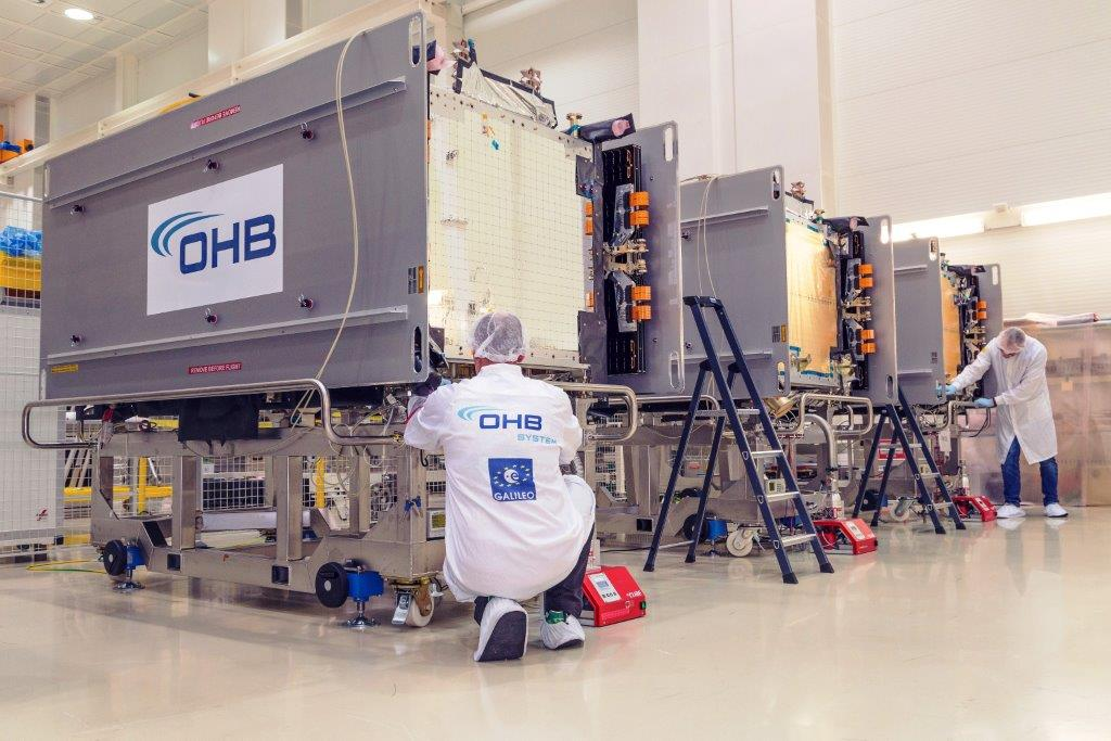 New on the scene - Four OHB satellites reinforce the Galileo constellation