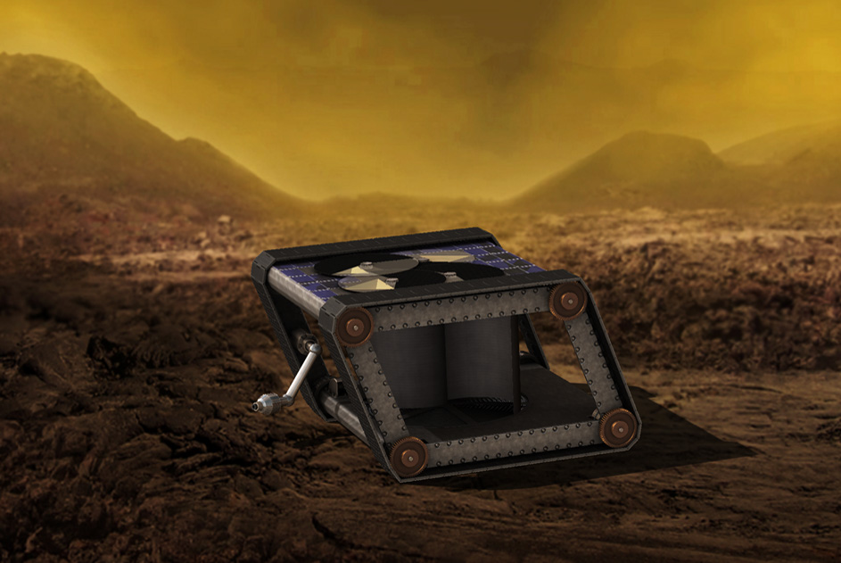How do you explore one of the most hostile planets in our solar system?