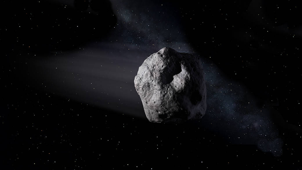 Asteroids - How can our Earth be protected? - Part 12 of #TwoMinutesOfSpace with Carsten Borowy
